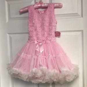 Popatu brand new with tags pink dress tutus nwt
